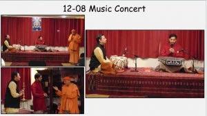 12-08 Concert: Vinay Desai on Santoor & Rajesh Pai on Tabla