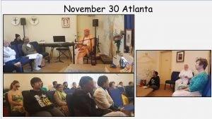 11-30 Retreat on Meister Eckhart in Vedanta Center Atlanta