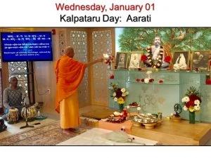 01-01 Kalpataru Day Aarati