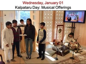 01-01 Kalpataru Day Musical Offering by Young Devotees
