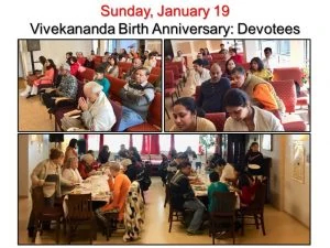 01-19 Devotees and Lunch