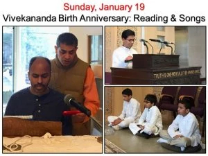 01-19 Readings, Devotional Song and Puja Assistants