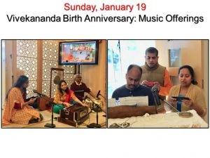 01-19 Devotees Offer Devotional Songs