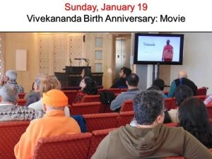 01-19 Movie on Swamiji's Life