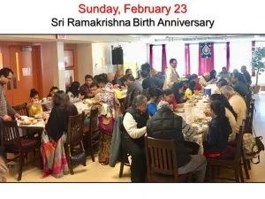 02-23 Devotees Enjoy Prasad Lunch