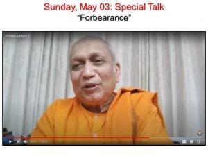 05-03 Special Talk on Forbearance
