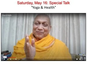 05-16 Special Talk Yoga and Health