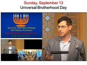 09-13 Rabbi Barry Dolinger