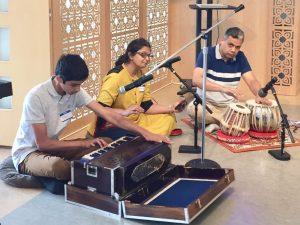 06-12 Devotional Music by Pranav, Mukta and Tushar