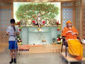 06-12 Kartik Reads from Swami Vivekananda's Work