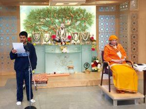 06-12 Kabir Reads from Swami Vivekananda's Works