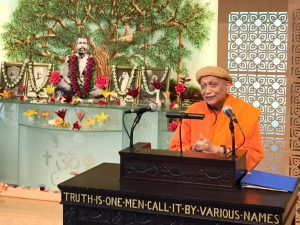 """07-04 Swamiji's Remarks on """"True Freedom"""""""