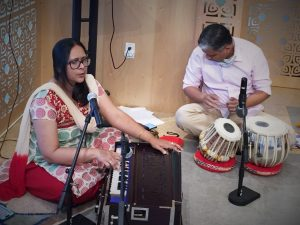 07-24 07-24 Anindita & Tushar Offer a Devotional Song