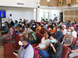 07-24 Guru Poornima Devotees and Audience