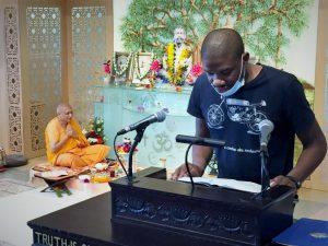07-24 Ezenwa Offers a Devotional Reading