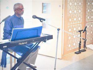 08-29 Sukalyan Sengupta Offers a Devotional Song