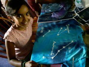 08-18 Shakti's Constellation Tie-Dye T-Shirt