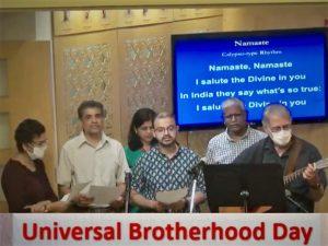 09-12 Universal Brotherhood Day