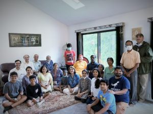 08-22 Satsang with Devotees in New Jersey