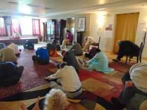 Yoga Exercises Session