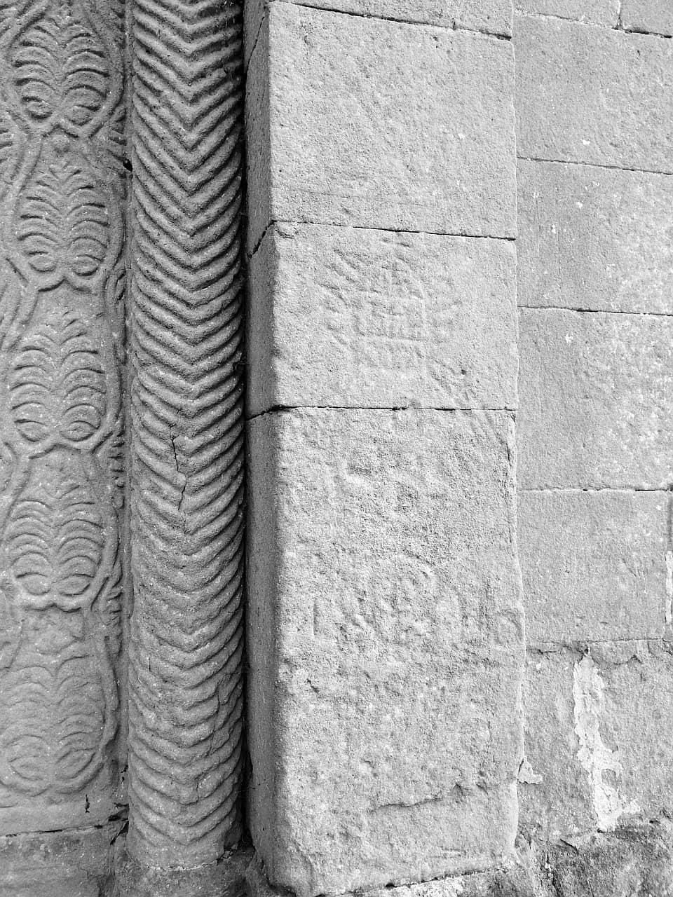 Pieve di Corsignano, Incisione mistica