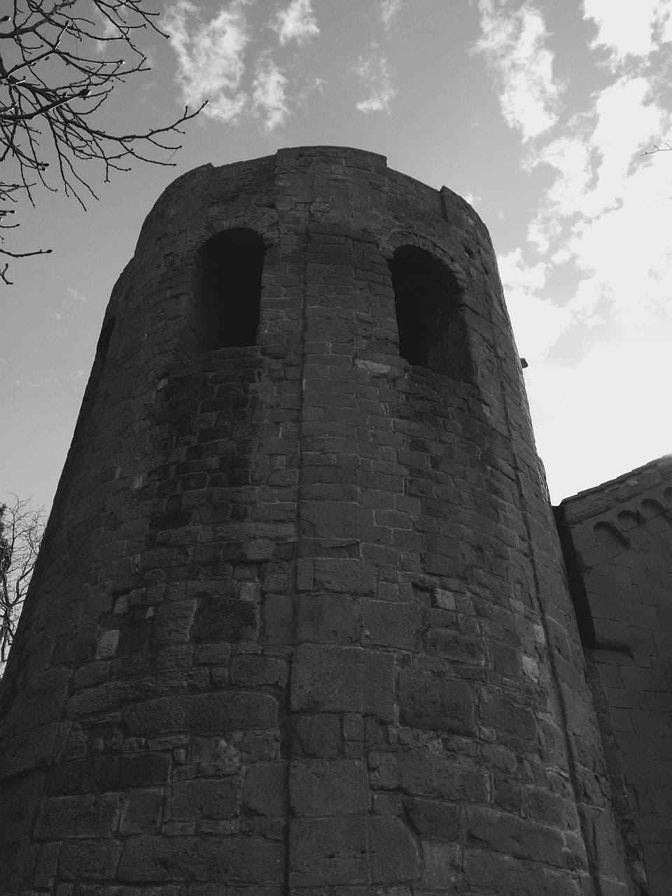 Pieve di Corsignano, Torre Campanaria