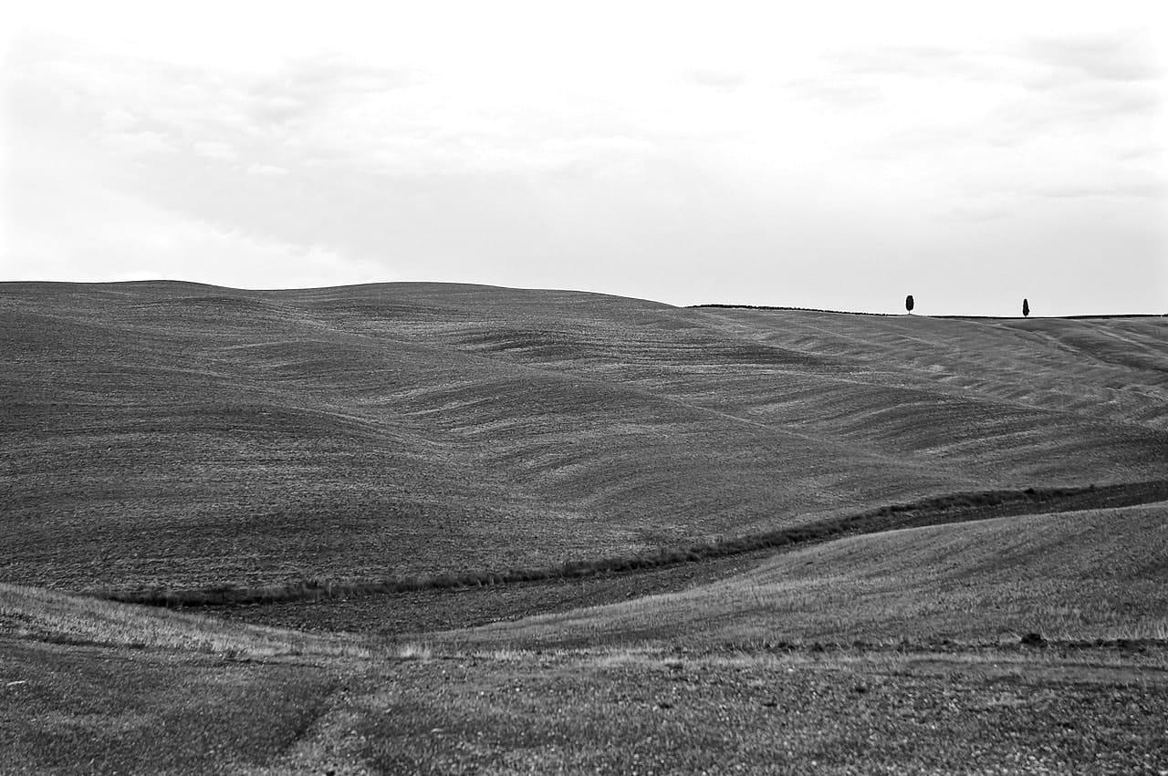Le brulle colline di creta