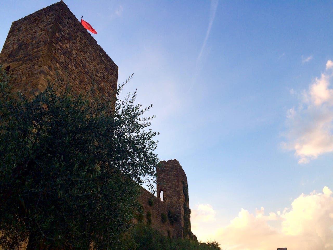Monteriggioni, Mura