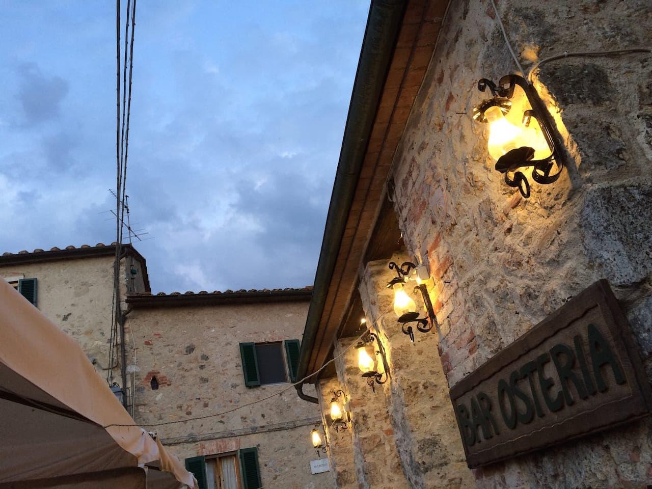 Monteriggioni, Osteria