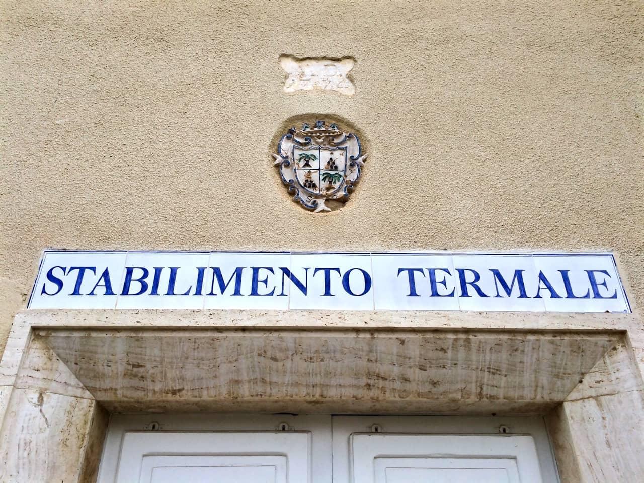 Il più antico stabilimento termale di Bagno Vignoni, oggi chiuso