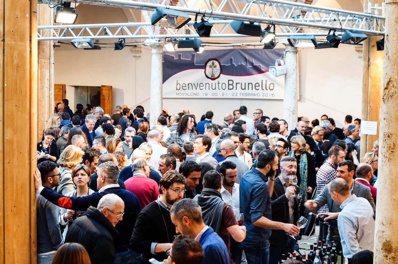 Un folto pubblico a Benvenuto Brunello 2016