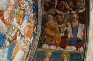 L'affresco di Girolamo di Benvenuto nella cappelletta della Madonna della Neve a Torrita di Siena