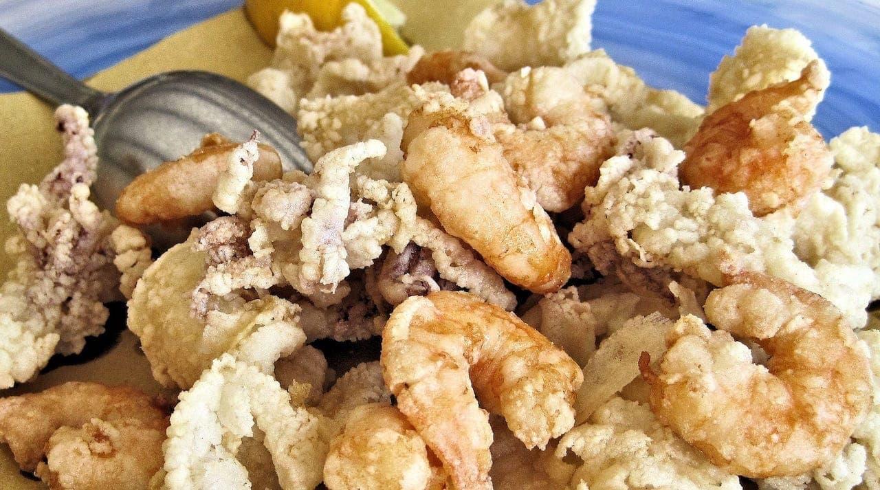 Frutti di mare fritti