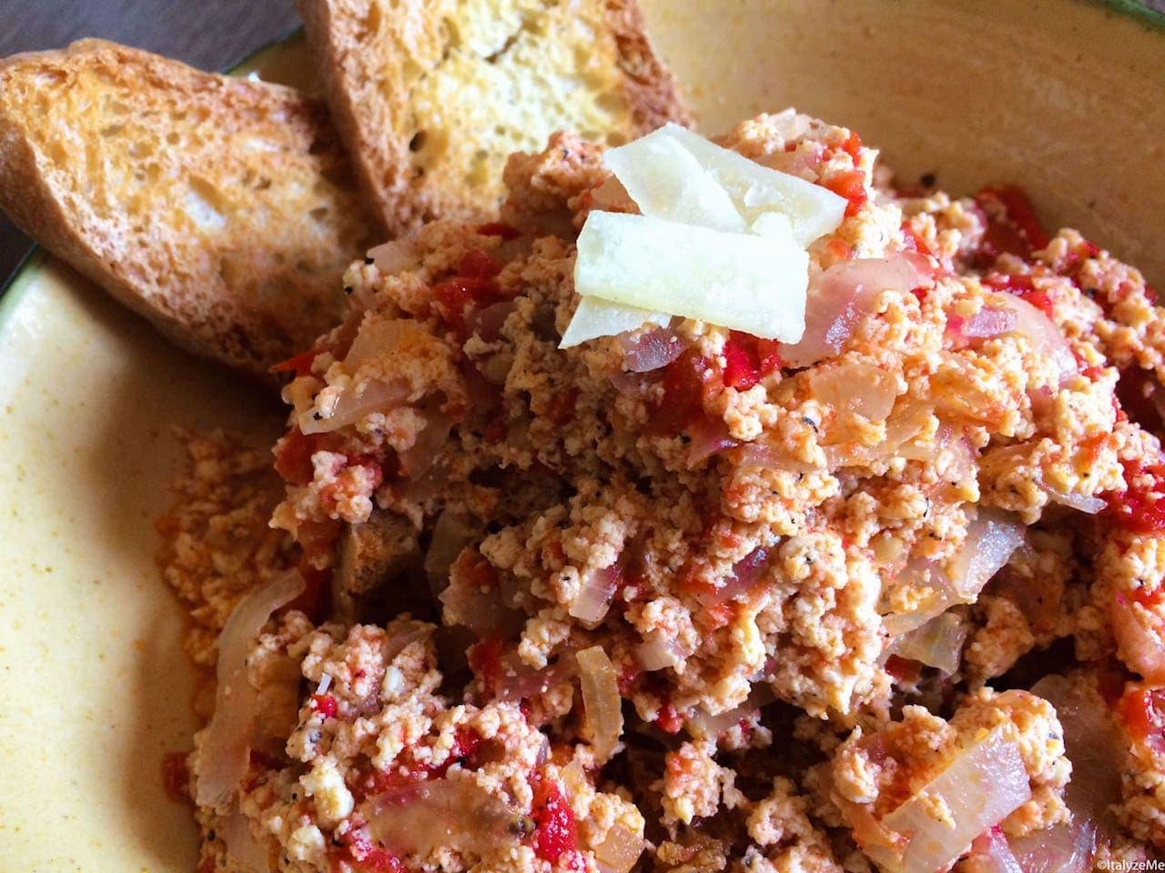 Un generoso piatto di Ciancinfricola senese!