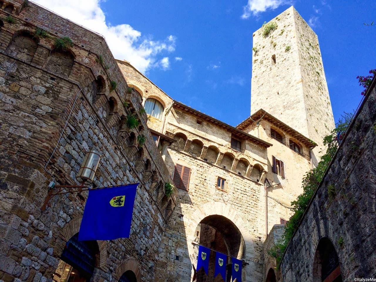 Arco de' Becci, San Gimignano