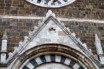 Portale della chiesa di Sant'Agostino a Montalcino