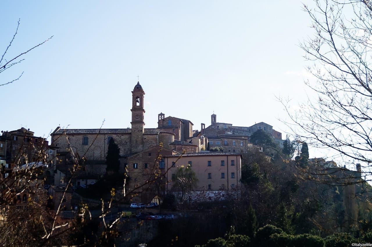 Profilo della città di Montepulciano
