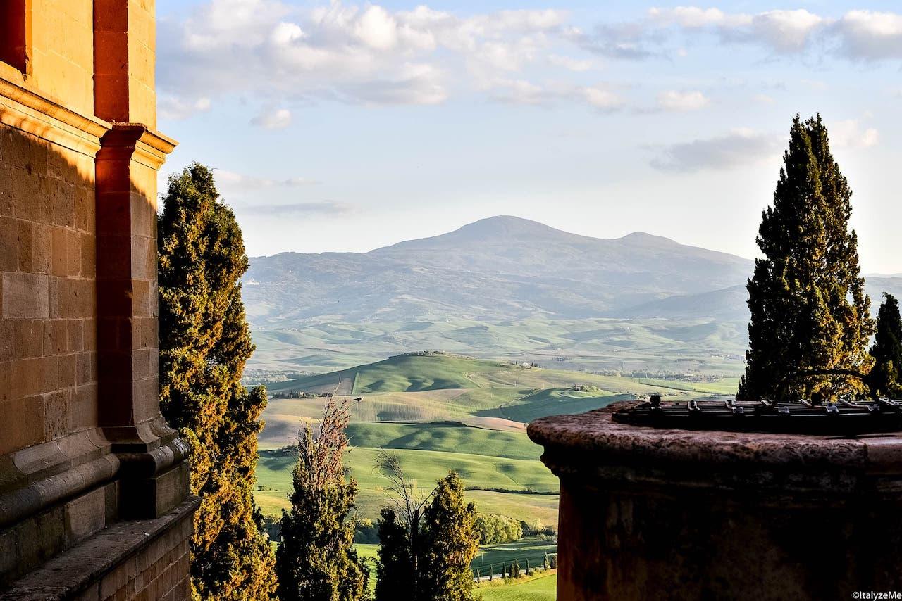 Pienza: un itinerario panoramico e molto romantico
