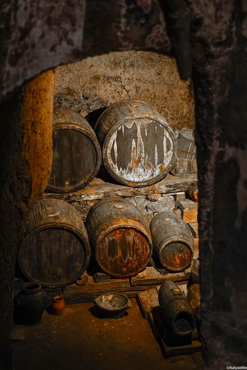 Cantine sotterranee presso il Pozzo della Cava ad Orvieto