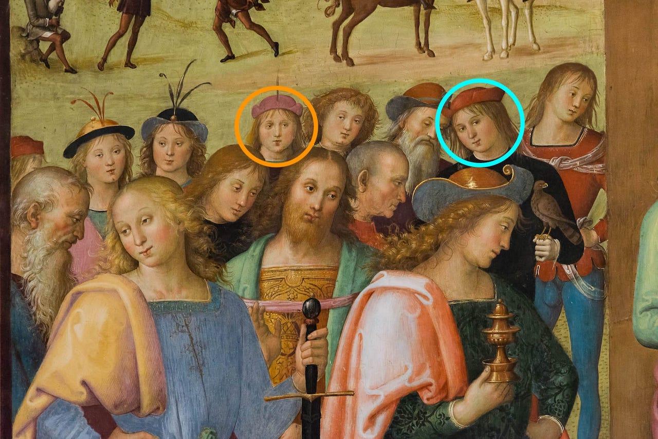 Raffaello e il Perugino - Adorazione dei Magi - Città della Pieve