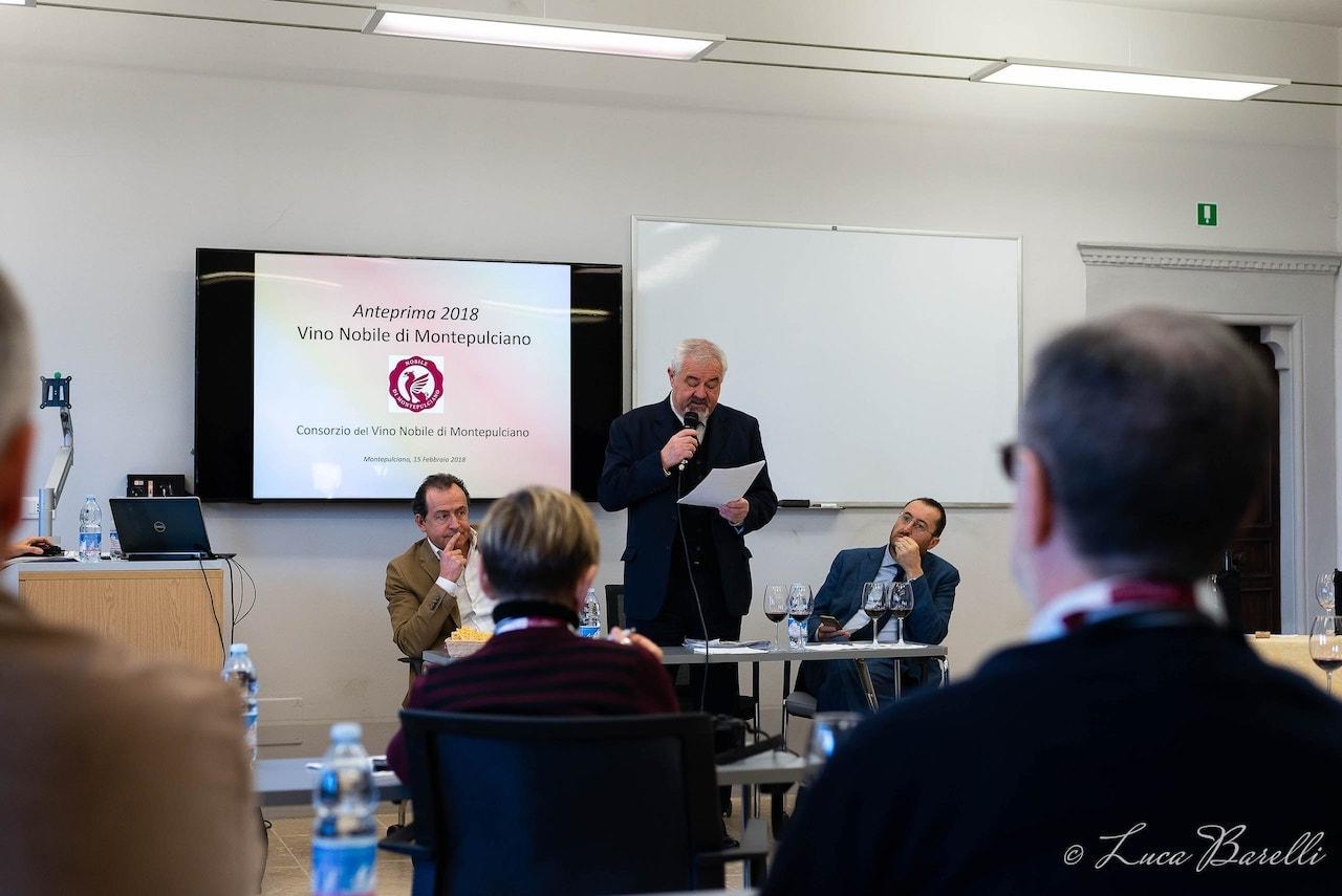 Conferenza stampa dell'Anteprima del Vino Nobile di Montepulciano 2018