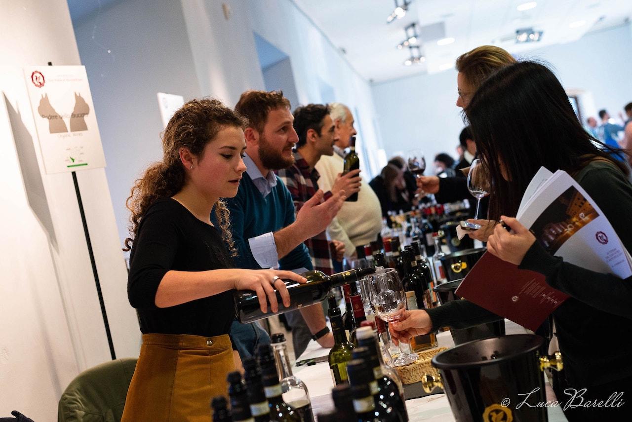 Degustazioni di Vino Nobile all'Anteprima del Vino Nobile di Montepulciano 2018