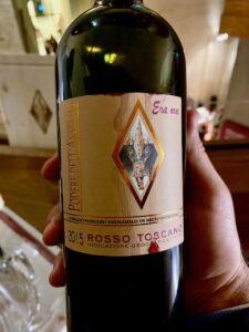 Era Ora 2015 Podere dell'Anselmo a Wine&Siena 2019