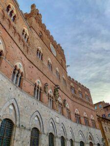 Palazzo Pubblico durante Wine&Siena 2019