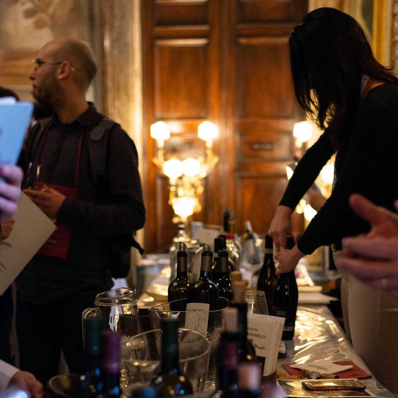 Il Salone delle Feste del Grand Hotel Continental a Wine&Siena 2019