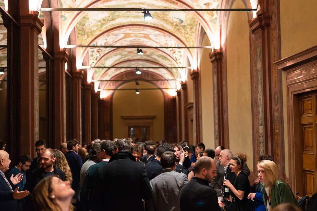 Tante presenze a Rocca Salimbeni - Wine&Siena 2019