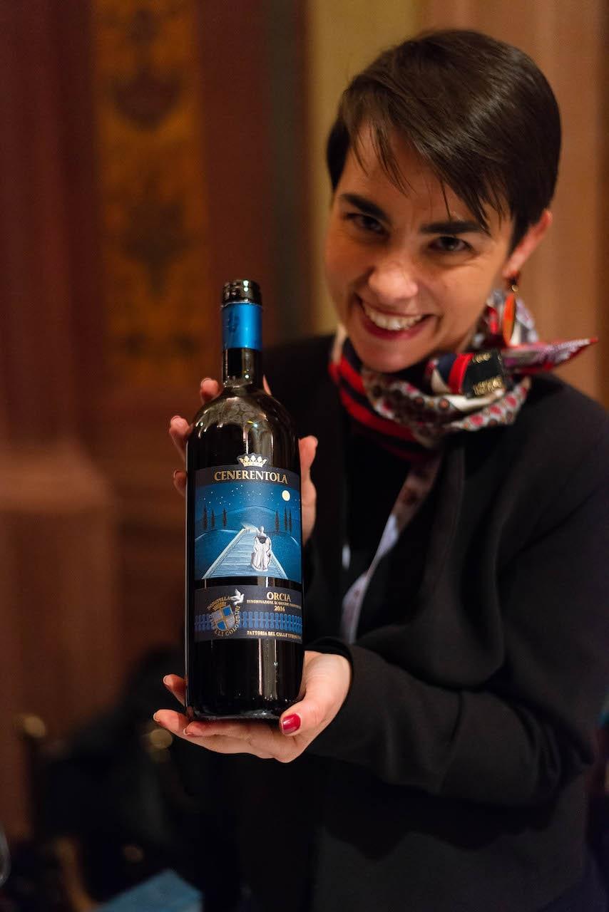 Violante Gardini e il Brunello Cenerentola di mamma Donatella Cinelli Colombini a Wine&Siena 2019