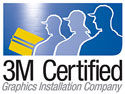 3M Certified Graphics Installation Company Logo Small