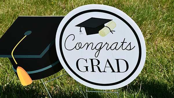 Lawrence Sign Up Custom Graduation Signs
