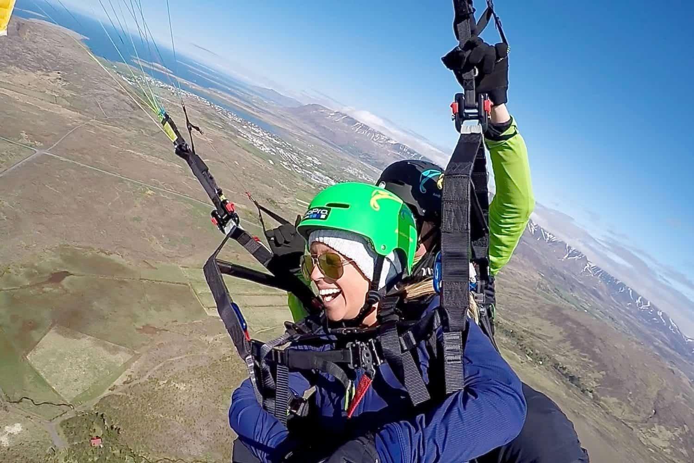 tandem paragliding tour
